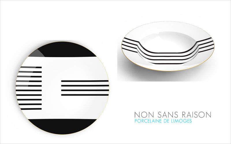NON SANS RAISON Assiette creuse Assiettes Vaisselle  |