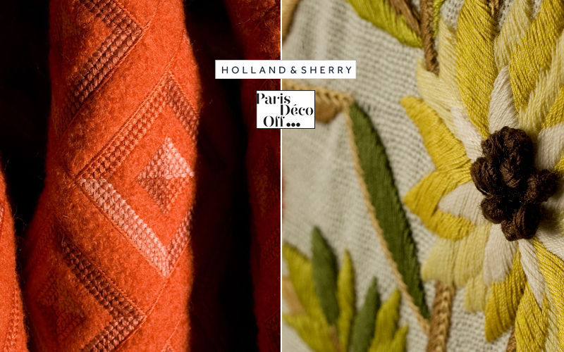 Holland & Sherry Tissu d'ameublement Tissus d'ameublement Tissus Rideaux Passementerie  |