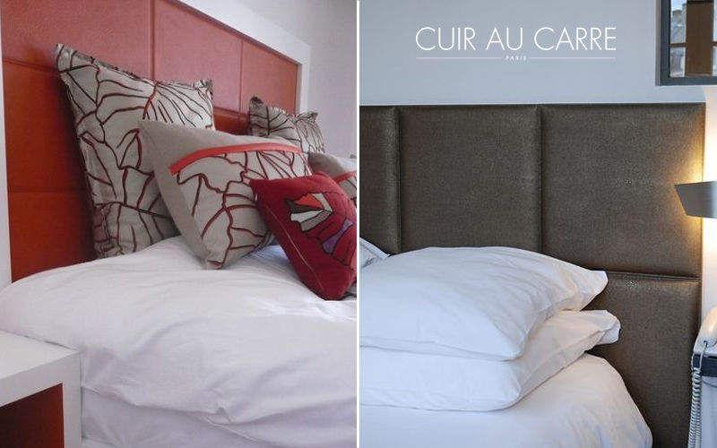 CUIR AU CARRÉ Tête de lit Têtes de lit Lit  |