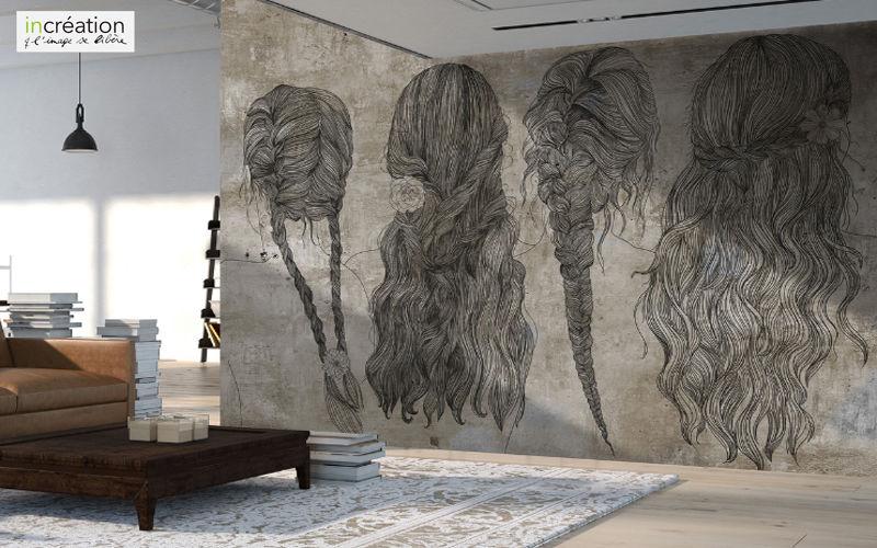 papiers peints murs plafonds decofinder. Black Bedroom Furniture Sets. Home Design Ideas