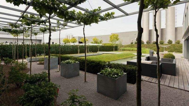 FILIP VANDAMME Terrasse aménagée Jardins réalisations Extérieur Divers Terrasse   Design Contemporain