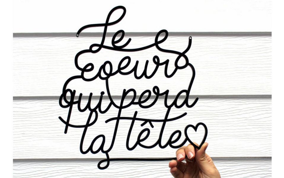 MILIEO Lettre décorative Chiffres et Lettres décoratifs Objets décoratifs  |