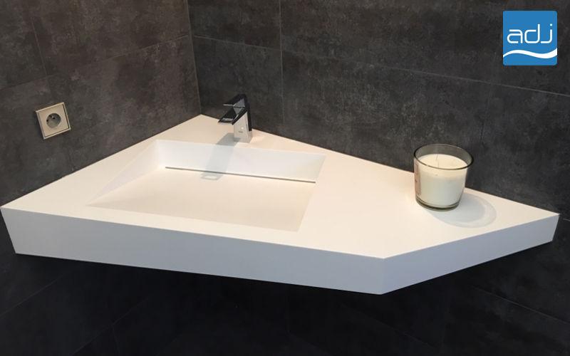 ADJ Lavabo suspendu Vasques et lavabos Bain Sanitaires  |