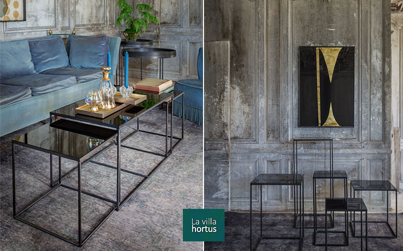 LA VILLA HORTUS Table basse carrée Tables basses Tables & divers  |