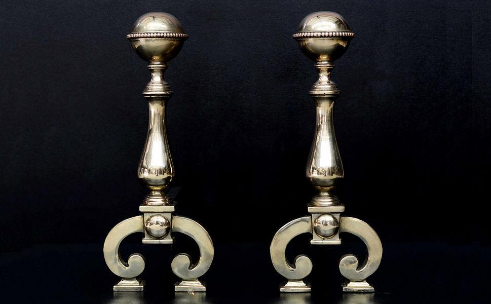 Thornhill Galleries Chenets Accessoires de cheminée Cheminée  |