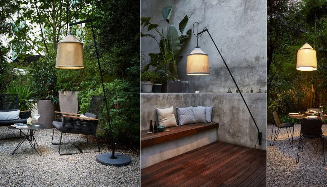 Marset Lampadaire de jardin Réverbères lampadaires Luminaires Extérieur  |