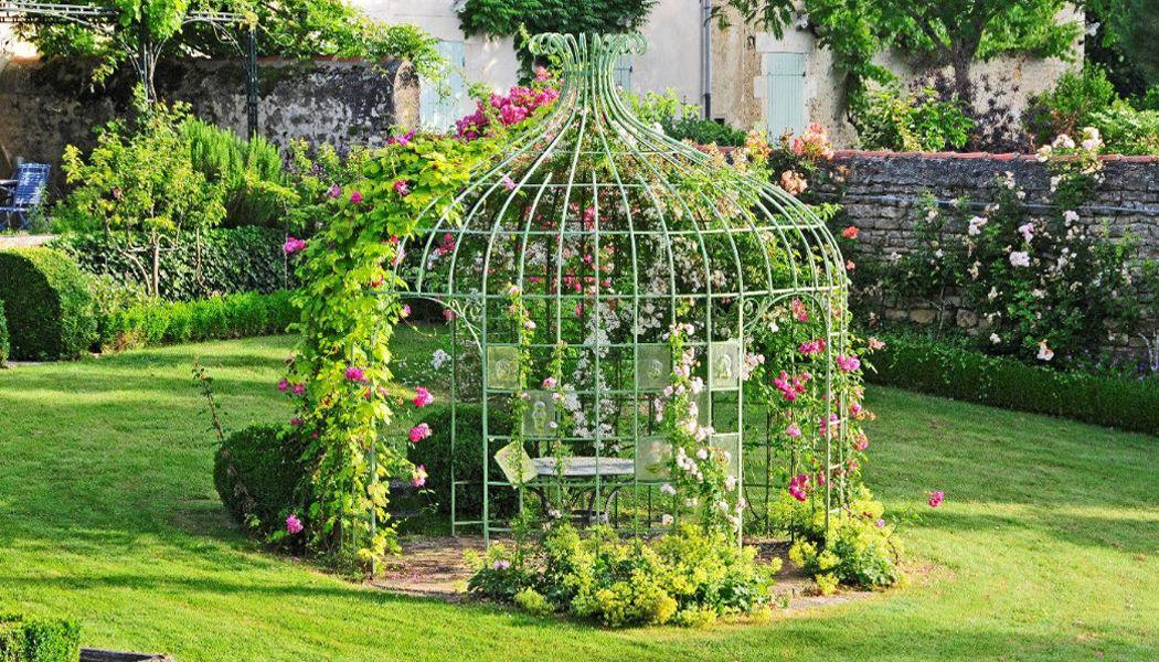 METAL VERT Gloriette Kiosques et gloriettes Jardin Abris Portails...  |