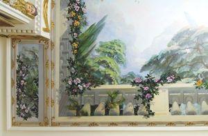 Fabienne Colin Plafond peint