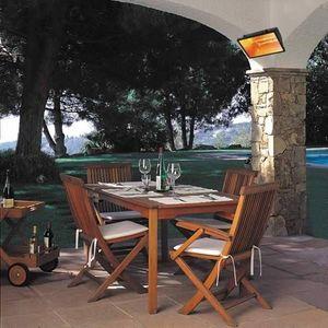 Symo Parasols Chauffage de terrasse électrique