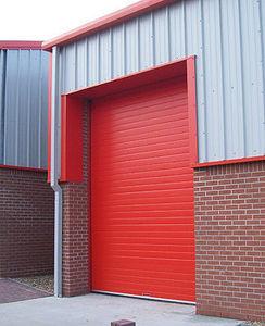 Id Park Porte de garage sectionnelle