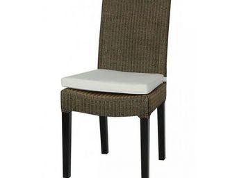 MEUBLES ZAGO - chaise loyd loom marron clair cambridge - lot de 2 - Chaise