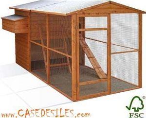 Case des iles -  - Poulailler