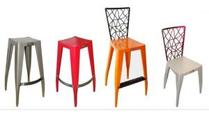 WOOTZ MOBILIER -  - Tabouret
