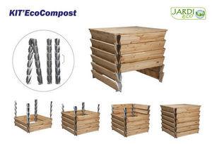 jardieco - kit eco compost - Bac À Compost