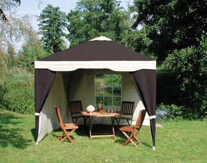 TRAUM GARTEN - tonnelle de jardin en acier et toile polyester cho - Tente De Jardin