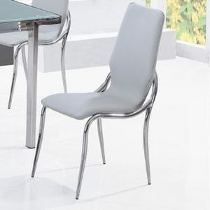 Smart Boutique Design - chaises kiss gris lot de 6 - Chaise