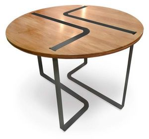 La Corbeille Editions - sangle - Table De Repas Ronde