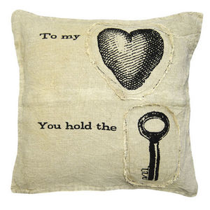 Sugarboo Designs - pillow collection - to my heart - Coussin Carré