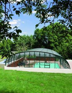 Snsas Swim All Seasons -  - Abri De Piscine Haut Fixe Ind�pendant