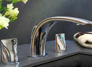 Serdaneli International -  - Mélangeur Lavabo 3 Trous