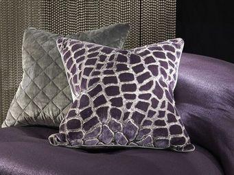 Zinc textile -  - Coussin Carr�