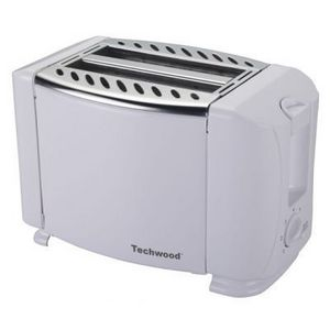TECHWOOD - grille pain blanc design - Toaster