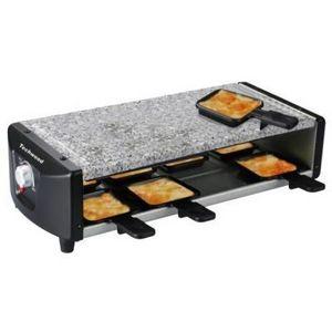 TECHWOOD - raclette et pierre de cuisson - Appareil À Raclette Électrique