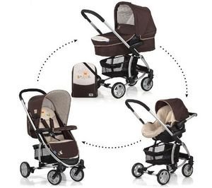HAUCK - pack poussette trio malibu all in one - winnie the - Poussette