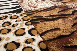NAZAR - tapis contempo 190x280 beige - Tapis Contemporain