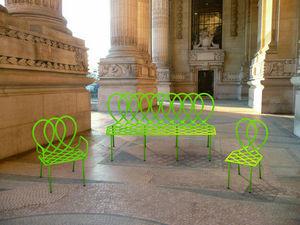 22 22 EDITION DESIGN - palais - Banc De Jardin
