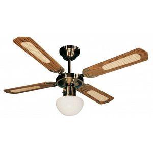 FARELEK - ventilateur de plafond ø 107 cm, 4 pales 50 watts - Ventilateur De Plafond
