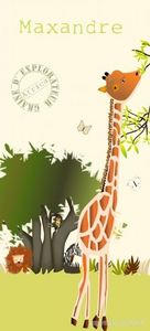 BABY SPHERE - lé papier peint safari - Papier Peint Enfant