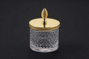 Cristal Et Bronze -  - Pot À Coton
