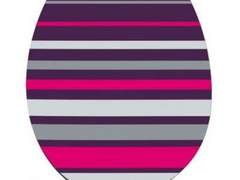 Cm - abattant wc multicolore - couleur - gris - Abattant Wc