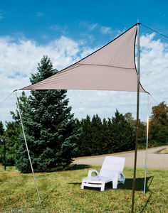 WILSA GARDEN - voile d'ombrage triangle 300x300x230cm - Voile D'ombrage