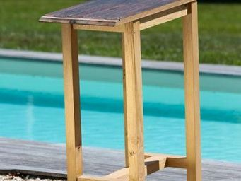 DOUELLES AND DESIGN - pont bateau - Table D'appoint De Jardin