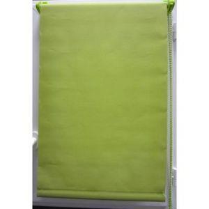 Luance - store enrouleur tamisant 45x90 cm vert - Store Occultant