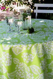 FLEUR DE SOLEIL - coton hortensia - Nappe Rectangulaire