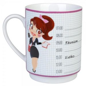 La Chaise Longue - mug de bureau agenda - Mug