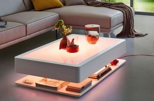 Moree - ora home led pro - Table Basse Lumineuse
