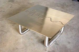 COOLFABRIK CRÉATION MÉTAL -  - Table Basse Forme Originale