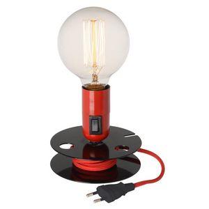 La Chaise Longue - lampe cinéma bobine - Lampe À Poser