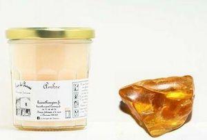 LES BOUGIES DE CHARROUX - ambre - Bougie Parfumée