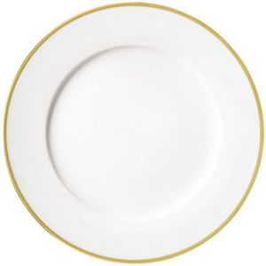 Raynaud - fontainebleau or - Assiette À Dessert