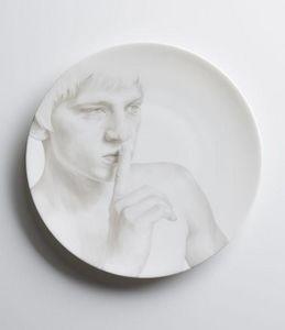 TH MANUFACTURE - les 5 assiettes -julien julien - Assiette Plate
