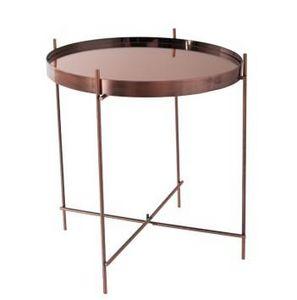 Mathi Design - table salon cuivre - Bout De Canapé