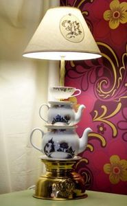 WAGNER PORCELAIN & JEWELLERY -  - Lampe � Poser