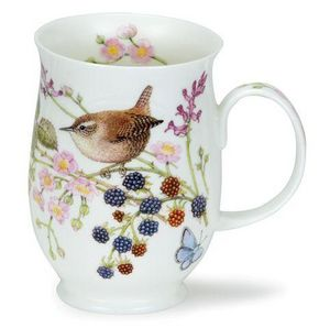 DUNOON - hedgerow birds wren - Mug