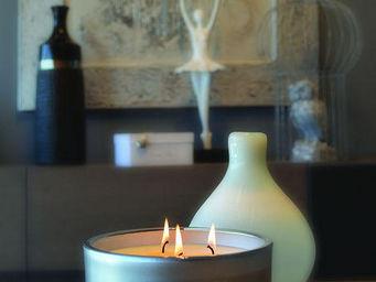 LES LUMIÈRES DU TEMPS - bougie luxe argent - Bougie Parfumée