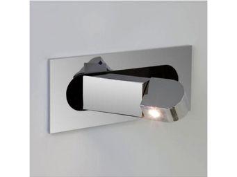 ASTRO LIGHTING - applique encastrable digit led interrupteur chrome - Applique